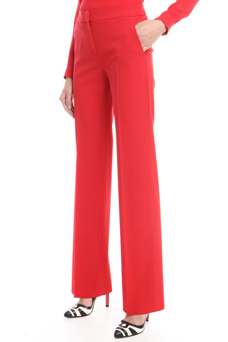 Pantalone in lana stretch Intrend