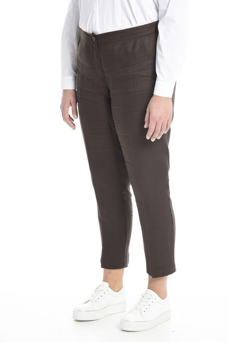 Pantalone morbido in lino Diffusione Tessile