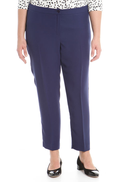 Pantalone in tessuto crepe Diffusione Tessile