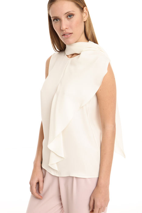 Top in georgette di seta Diffusione Tessile
