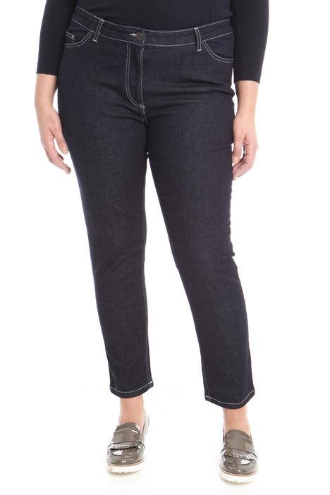 Jeans con cuciture a contrasto Diffusione Tessile