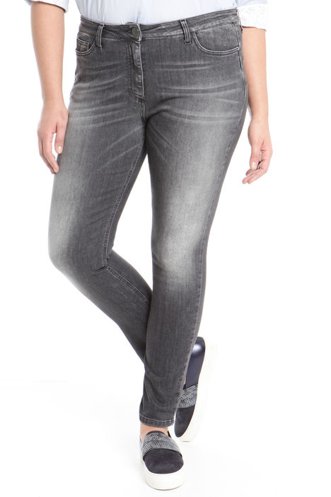 Pantaloni in denim stretch Intrend
