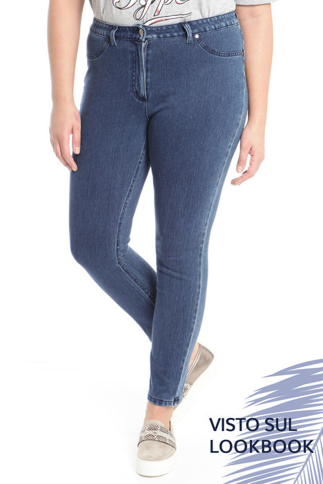 Jeans leggings in denim Intrend