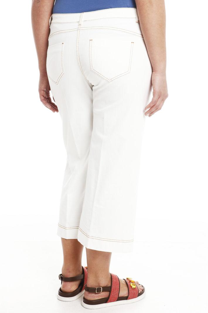 Jeans cropped in denim leggero Intrend