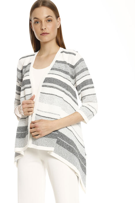 Cardigan in viscosa crepe Intrend