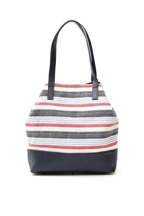Shopping bag a righe Diffusione Tessile
