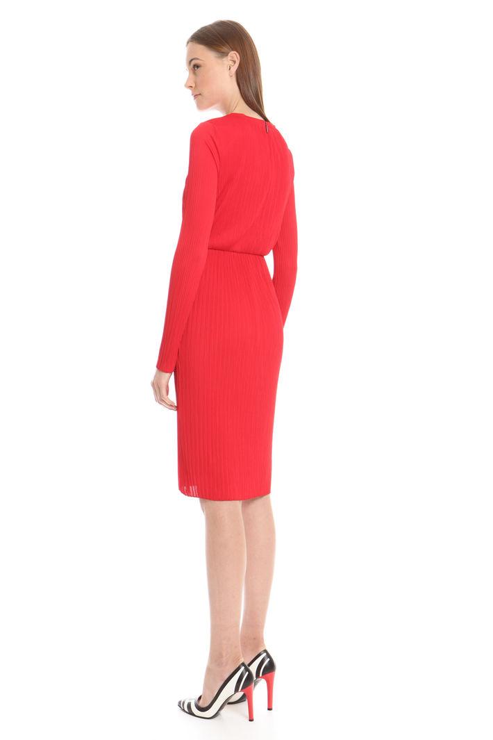 in in Abito jersey plissè plissè Abito plissè jersey jersey in rosso Abito rosso rosso 4vw4qF