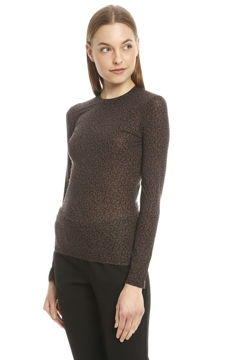 Top aderente in jersey stretch Diffusione Tessile