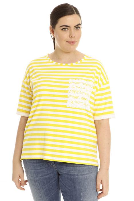 T-shirt over con stampa Diffusione Tessile