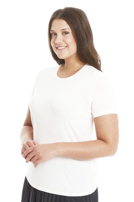 T-shirt in jersey di viscosa Intrend