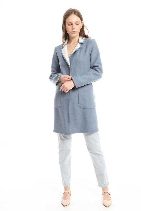 Cappotto leggero in lana Diffusione Tessile