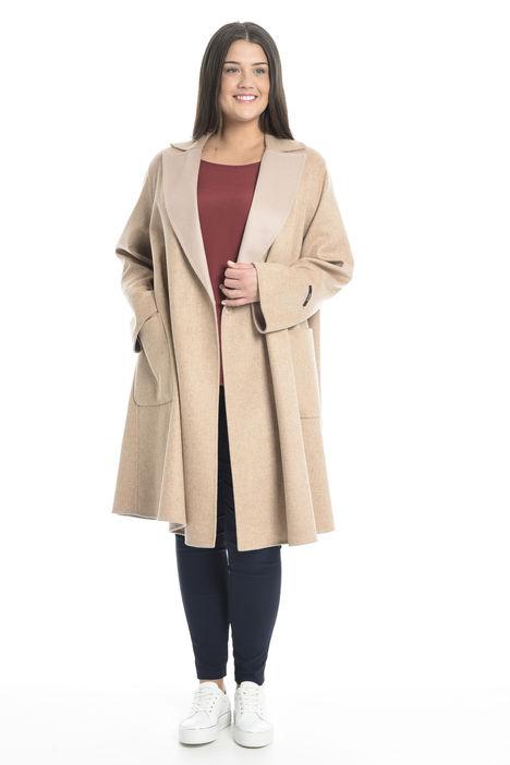 Cappotto in double di pura lana Diffusione Tessile