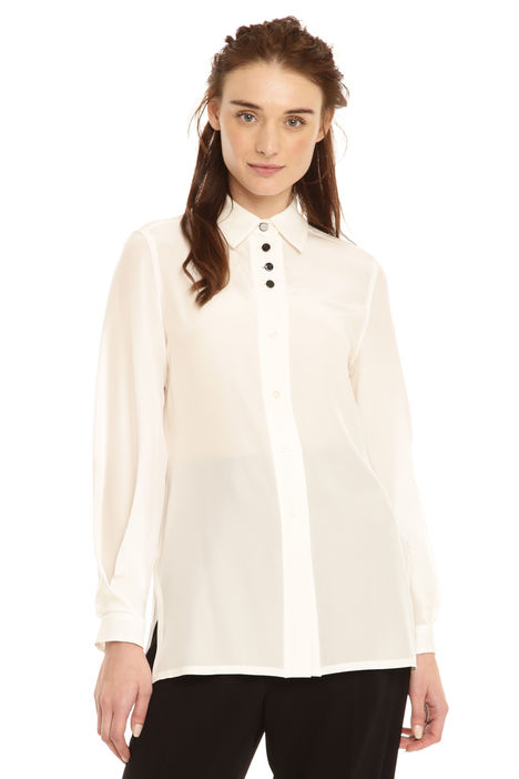 Camicia in crepe de chine Intrend