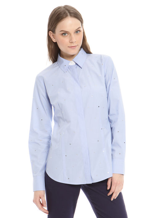 Camicia con applicazioni Diffusione Tessile