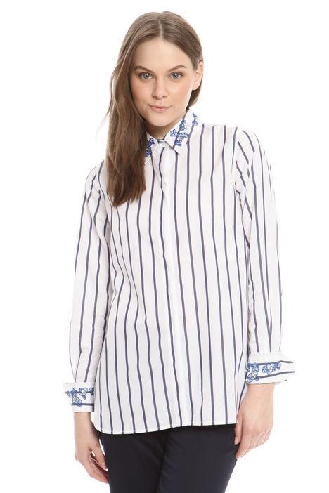 Camicia con ricamo di jais Diffusione Tessile