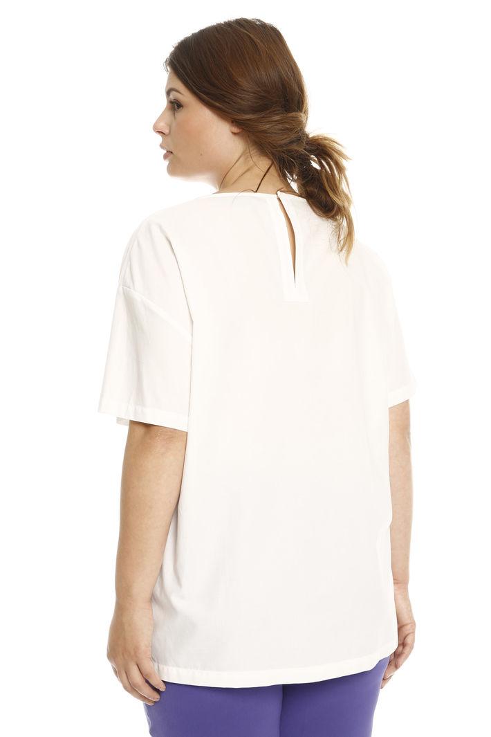 Blusa in popeline di cotone Intrend