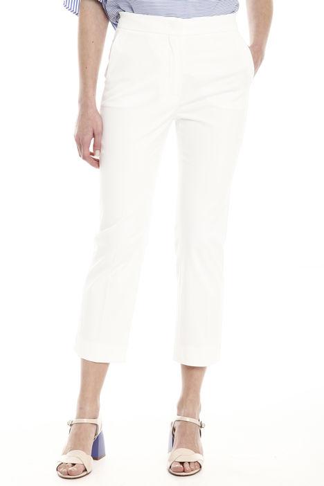 Pantalone dritto in gabardina Diffusione Tessile