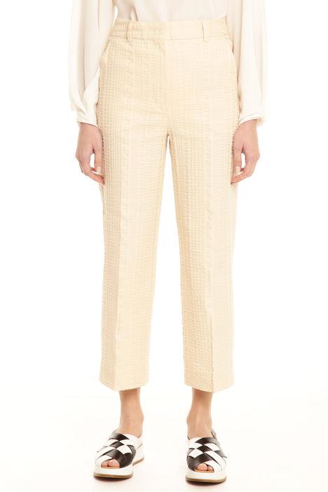 Pantalone in seersucker Intrend