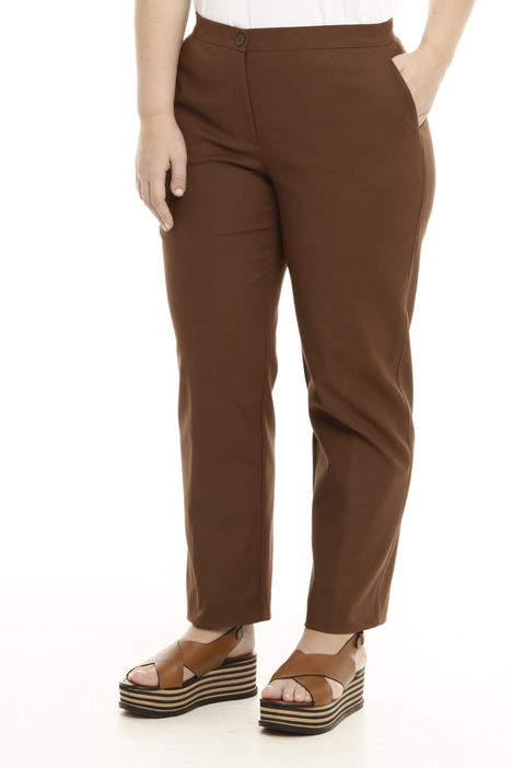 Pantaloni in doppio cotone Intrend