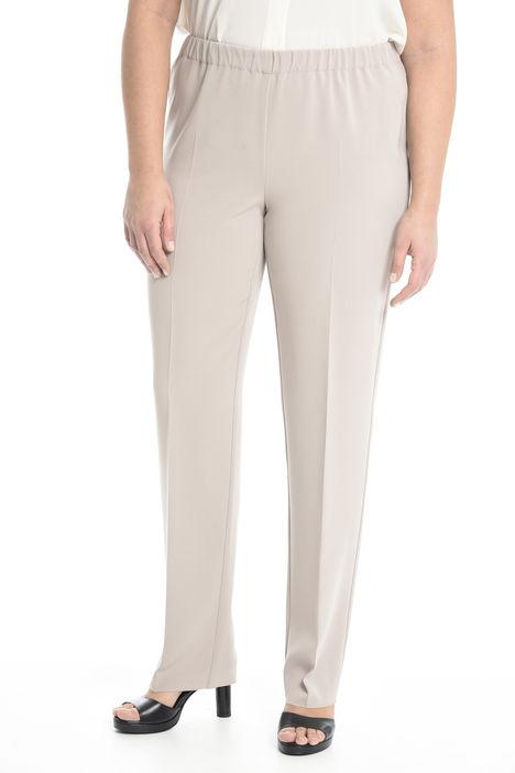 Pantalone con piega sul centro Intrend