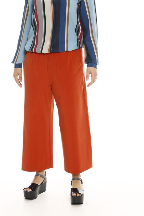Pantaloni palazzo con elastico Intrend