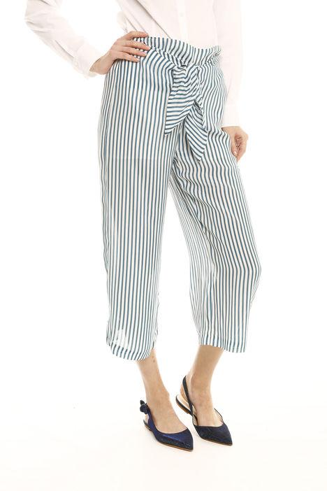 Pantaloni in crepe de chine Intrend
