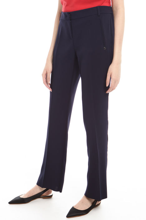 Pantalone dritto in cady Intrend