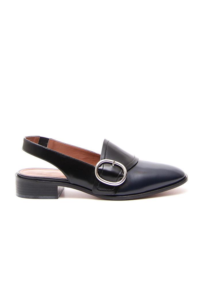 Scarpe con cut-out, blu nero