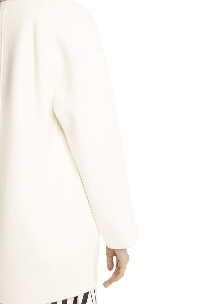 Cappotto in double di lana Diffusione Tessile