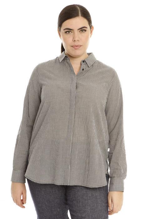 Camicia in cotone vichy Diffusione Tessile