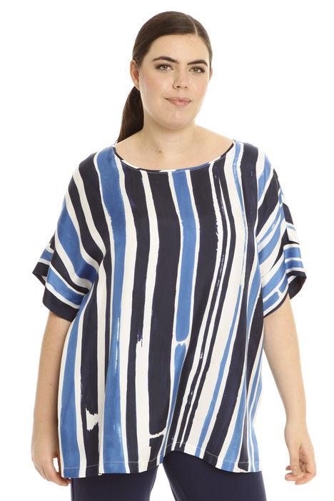T-shirt in twill di seta Diffusione Tessile