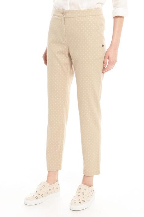 Pantalone in jacquard lurex Intrend