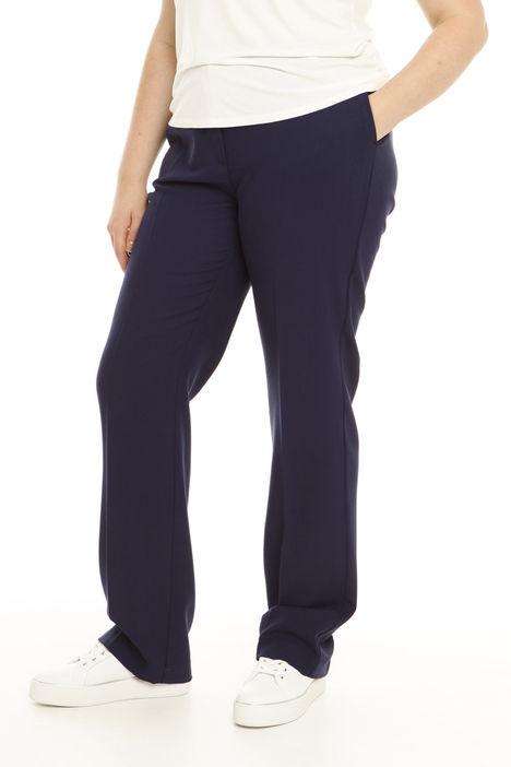Pantalone classico in lana Intrend