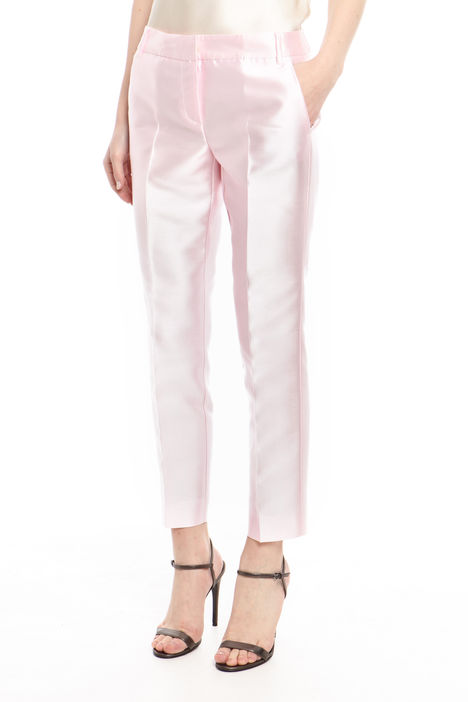 Pantalone lungo in douchesse Intrend