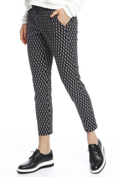 Pantaloni in tubico jacquard Diffusione Tessile