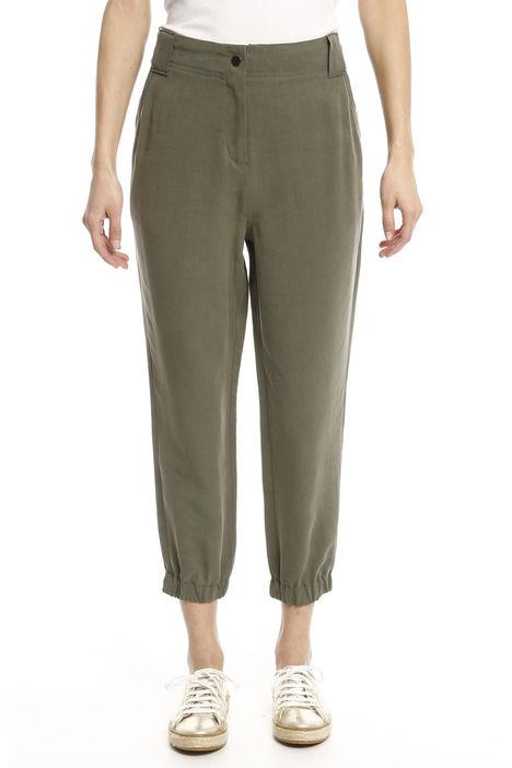 Pantalone con fondo elastico Diffusione Tessile