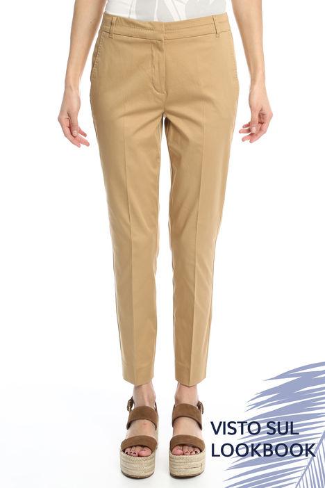 Pantalone in raso leggero Diffusione Tessile