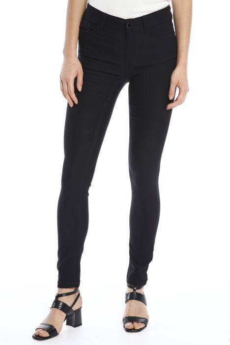 Pantalone skinny a vita alta Diffusione Tessile