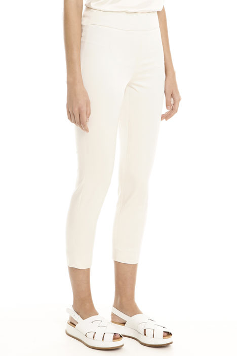 Pantaloni aderenti in faille Diffusione Tessile