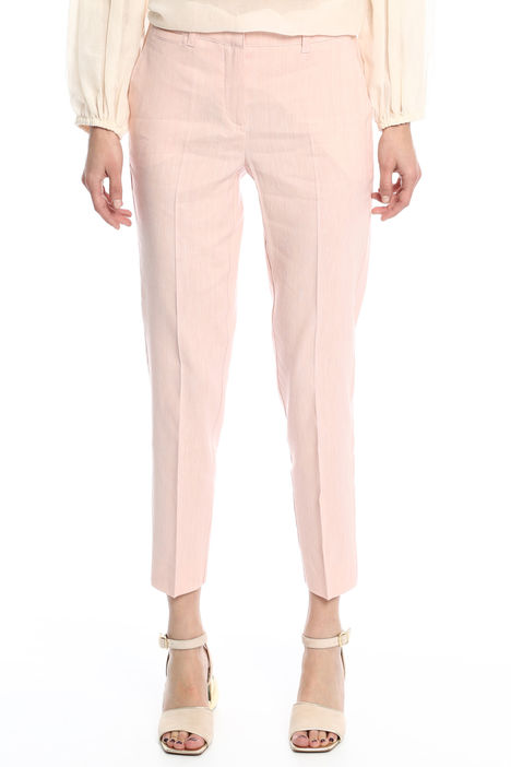 Pantalone in tessuto fiammato Diffusione Tessile