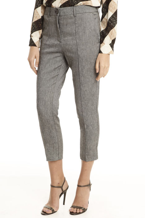 Pantalone in diagonale stretch Intrend