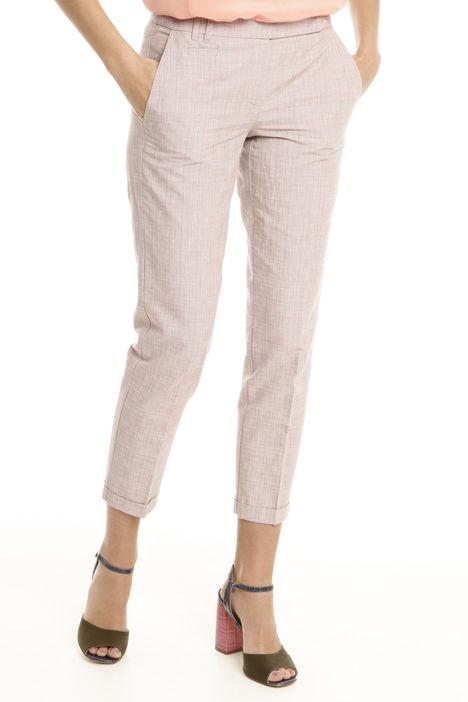 Pantaloni in tessuto tinto filo Intrend