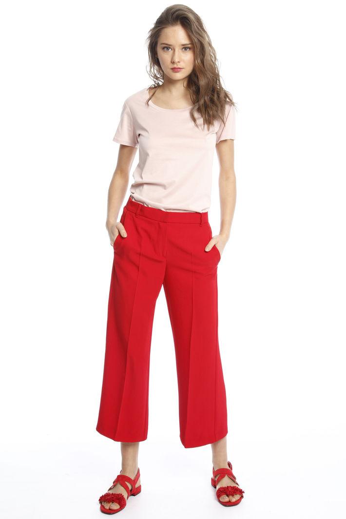 Pantaloni in twill triacetato Diffusione Tessile