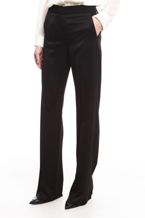 Pantalone in crepe enver satin Intrend