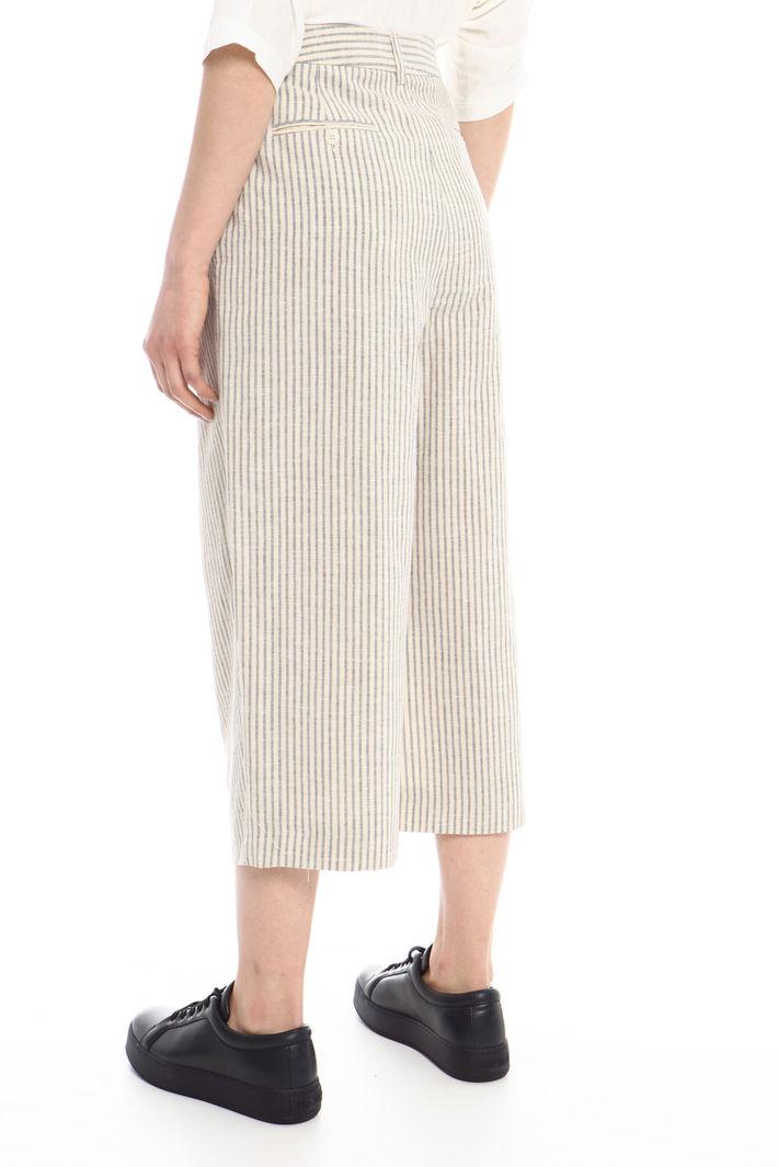 Pantaloni in lino e cotone Fashion Market