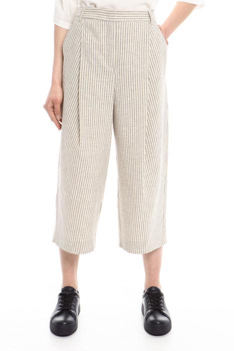 Pantaloni in lino e cotone Diffusione Tessile