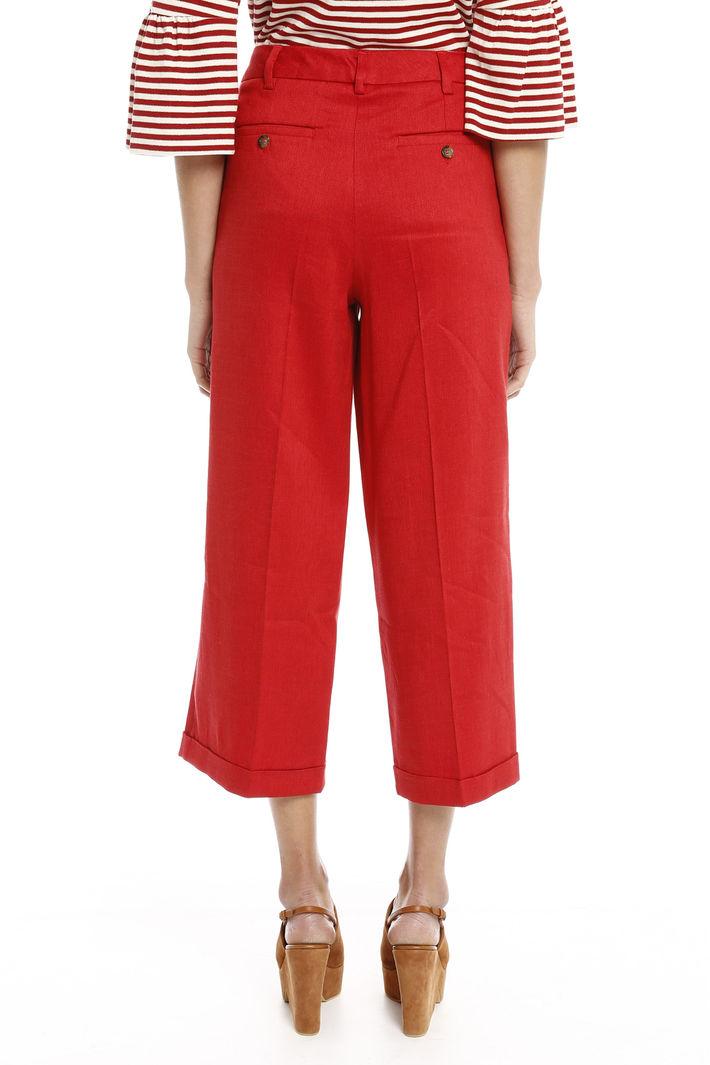 Pantaloni con risvolto Fashion Market