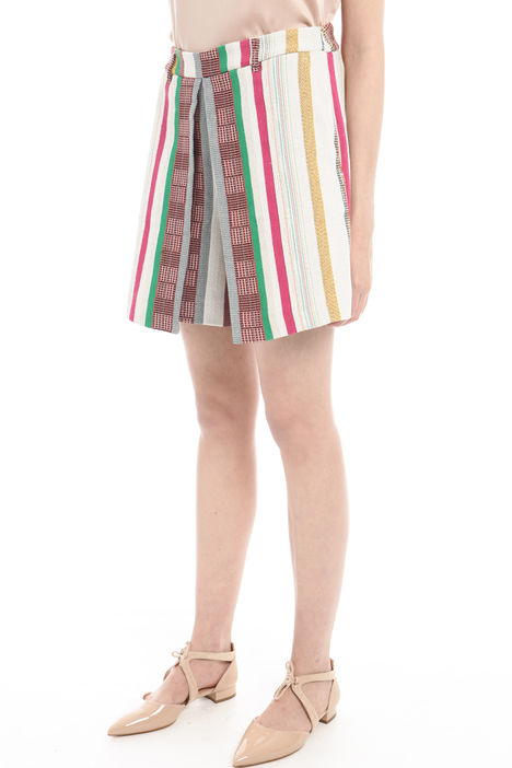 Shorts jacquard multicolor Diffusione Tessile
