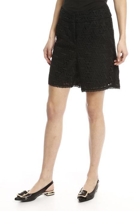 Shorts in tessuto macramè Diffusione Tessile