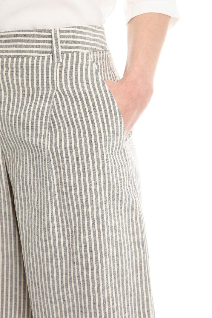 Shorts in lino Diffusione Tessile